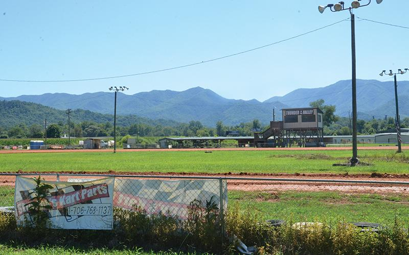 The Andrews property occupied by Bear Ridge Speedway and former Hillbilly Mall off U.S. 19/74 is for sale.