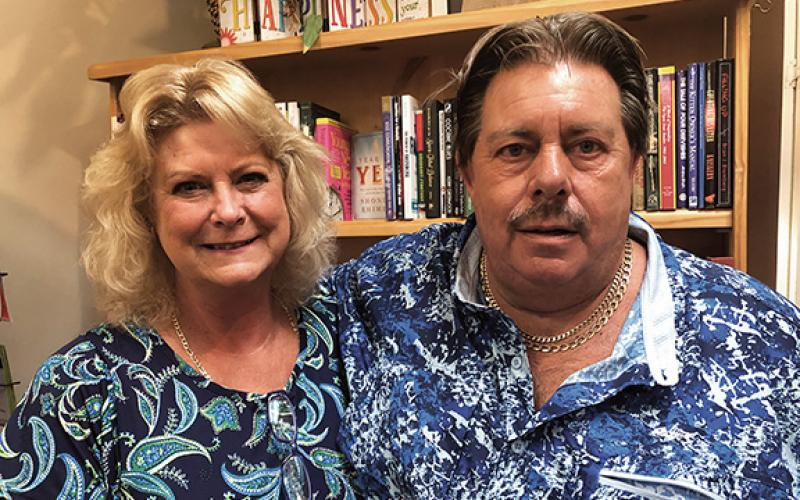 Timi and Vince Godin, formerly of St. Cloud, Fla., have purchased the popular Curiosity Shop Bookstore in downtown Murphy. Penny Ray/pennyray@cherokeescout.com
