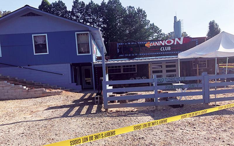 Penny Ray/pennyray@cherokeescout.com The Cannon Club on U.S. 64 West in Ranger may soon be shut down due to a potential alcohol licensing violation brought to light by a shooting last week.