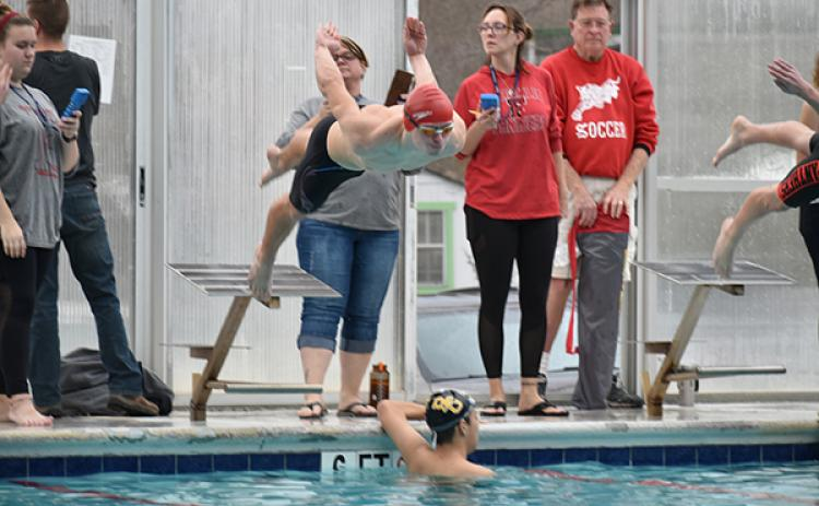 Andrews senior Gage Gillespie, who has qualified for the state swim meet all three of his years swimming under Bachteler, is just one of the many high school swimmers who will be affected by the closure of Murphy Health and Fitness's pool this winter.
